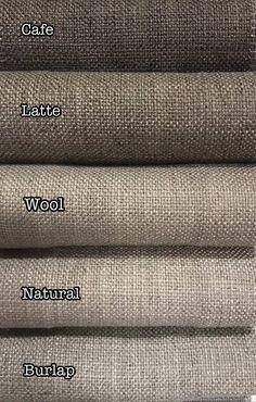 New Barista Custom Linen Drapery Collection in 32 Colors.Made in Canada. Barista, Drapery Designs, Drapery Styles, French Pleat, Custom Roman Shades, Window Design, Linen Fabric, Burlap Fabric, Interior Design Inspiration