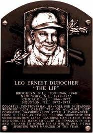 Leo Durocher, Houston