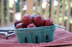 Brandied Cherries from Talk of Tomatoes #NWCherries