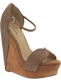 Love these Mark & James by Badgley Mischka High Wedge Sandals!! <3