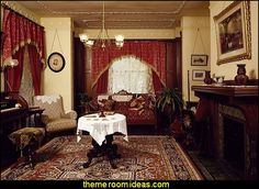 Victorian decorating style