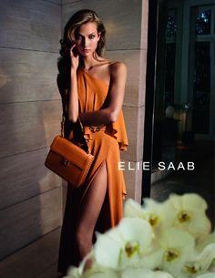 ELIE SAAB: stunning orange