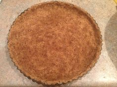 Above: Coconut and almond tart shell baked, chilled and brushed with coconut oil. Making this tart crust/shell is pretty easy: just mix the ingredients (as per instructions below), grease the tray,...