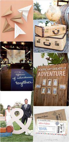 Moodboard: mariage voyage