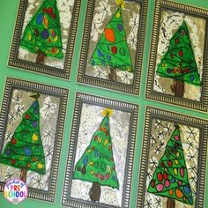 How to make stained glass window pictures. A great gift kids can make for their parents at school.