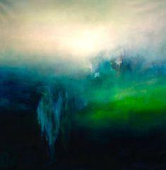 122 x 122 cm. Green Paintings, True Art, Street Art Graffiti, Wall Art Pictures, Art World, Landscape Art, Painting Inspiration, New Art, Abstract Art