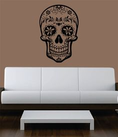 Hey, I found this really awesome Etsy listing at http://www.etsy.com/listing/162805224/sugar-skull-version-5-decal-sticker-wall
