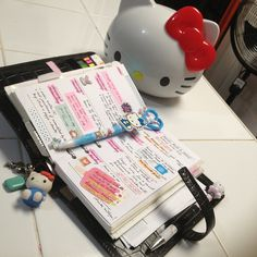 First week in my planner by mamachu0330, via Flickr