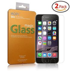 """[iPhone 6/6s Tempered Glass Screen Protector] HOFi Premium 0.26mm Tempered Glass Screen Protector for iPhone 6/6s 4.7"""" 3D Touch Compatible, Bubble Free, Explosion-Proof [2 Pack - 4.7 Inch] , http://www.amazon.co.uk/dp/B012MYAOM0/ref=cm_sw_r_pi_dp_XKJAwb01C6VDB"""