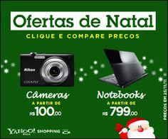 Yahoo! Shopping - Banner Ofertas de Natal