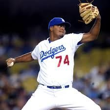 Kenley Jansen, lights out.  He emerged as a great closer last year.  Just signed a new contract today, 2/11/14.