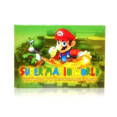 Super Mario World: Return to Dinosaur Land SNES Super Nintendo game, includes box and game cartridge only. Cleaned, tested and comes with a FREE box protector! Super Nintendo Console, Super Nintendo Games, Dinosaur Land, Super Mario World, Free Boxes, Nintendo Consoles, Games To Play, Toy Chest, Landing
