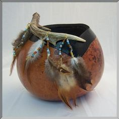 """*Gourd Art - """"Tickle Me"""" by Trudy Avery"""