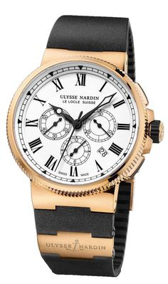 Ulysse Nardin 1506-150LE-3 Marine Manufacture RG 43mm Limited Edition 150 -  швейцарские a6e618abb13