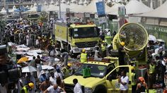 SAUDI ARABIA MECCA STAMPEDE (Over 450 dead 700 wounded in stampede duuring Hajj in Mecca)