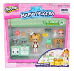 Shopkins Happy Places Welcome Pack - Kitty Kitchen