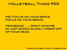 It's a Volleyball Thing