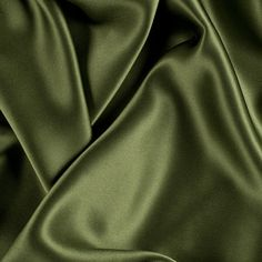 Introducing a top quality Pesto Silk Charmeuse made especially for Mood. Of a medium weight, this superb silk features an exquisite drape along with a lovely sheen. Silk charmeuse fabrics are the ideal material for classic gowns, dresses, blouses, and lin Green And Brown, Olive Green, Motif Photo, Silk Wallpaper, Fabric Photography, Slytherin Aesthetic, Mood Fabrics, Green Theme, Silk Charmeuse