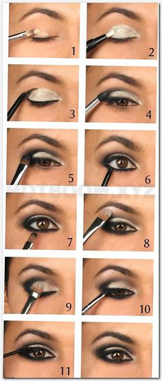 awesome smokey eyes makeup is definitely an art.- awesome smokey eyes makeup is definitely an art.todays round up is a little diff… awesome smokey eyes makeup is definitely an art.todays round up is a little different than usual - Eyeshadow Tutorial For Beginners, Smokey Eye Tutorial, Easy Smokey Eye, Eyebrow Tutorial, Makeup Tutorial For Beginners, Eye Shadow For Beginners, Smokey Hair, Mascara Tutorial, Beginners Eye Makeup