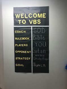 Vacation Bible School (VBS) Ideas For Sports Theme small locker