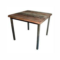 Salvaged Wood Pub Table at HudsonGoods.com