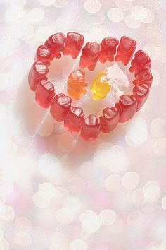 Gummy bear heart ♥