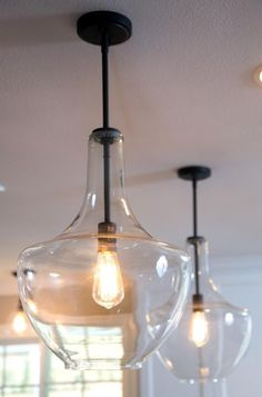 bubble glass lights
