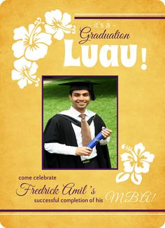 Outdoor graduation party ideas themes invitation wording luau outdoor graduation party ideas themes invitation wording stopboris Image collections
