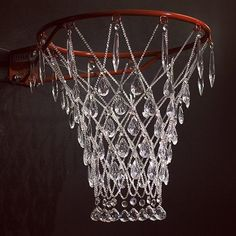 * Jana Brevick A crystal hoop that you might want to play ball very delicately! #Luxurydotcom