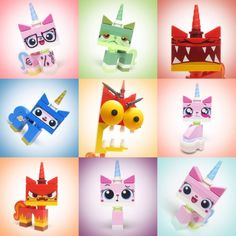 The many moods of Unikitty (by smokebelch)