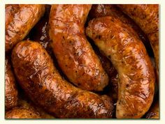 lincolnhire pork sausage:  Old fashioned herby regional sausage traditionally made with pork, bread and sage, although thyme seems to be creeping in.