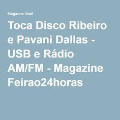 Toca Disco Ribeiro e Pavani Dallas - USB e Rádio AM/FM - Magazine Feirao24horas