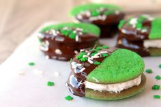 st. patty's day cookie bites