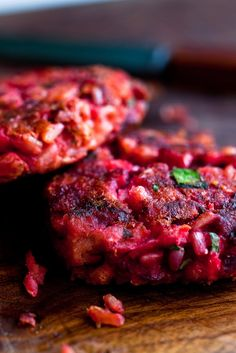 NYT Cooking: For some reason these pink burgers tasted better to me after they'd sat for a day in the refrigerator. So make them ahead for quick meals through the week and reheat in a medium oven or a frying pan.