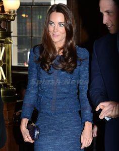 Kate Middleton Rebecca Taylor jacket - love this blue!