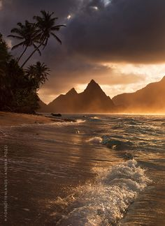 Polynesian gold by Andrea Pozzi on 500px