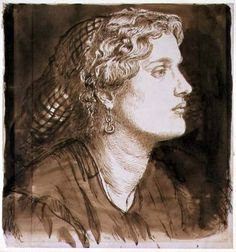 Dante Gabriel Rossetti - Portrait of Fanny Cornforth