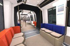 Alstom dévoile le futur métro francilien