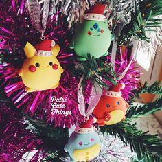 Los Pokegordis ya tienen el espíritu navideño  Disponibles a partir del 1 de Diciembre en la tienda online  by patricye