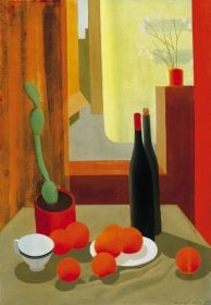 """igormag: """" Béla Kontuly Still life with Cactus and Oranges, oil on canvas """" Be Still, Still Life, Cactus, Classical Art, New Artists, Art Forms, Impressionist, Oil On Canvas, Modern Art"""
