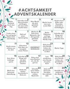 Mindfulness Advent Calendar - 24 days for more self-care in the pre . Achtsamkeit-Adventskalender – 24 Tage für mehr Selbstfürsorge in der Vorweih… Mindfulness Advent Calendar – 24 days for more self-care in the run up to Christmas – Women at Work Christmas Love, Winter Christmas, Xmas, Christmas Ideas, Advent Calenders, Diy Advent Calendar, Christmas Activities, Self Care, Diy Gifts