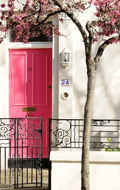 Watermelon Pink Door...lush!
