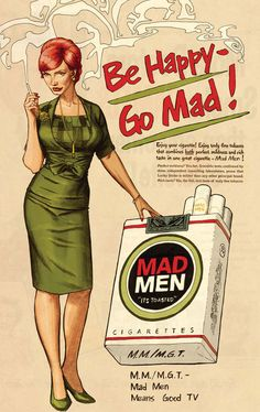 Joan Harris and Mad Men