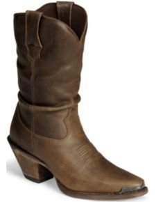 Durango Crush Distressed Slouch Boots