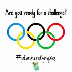 Are you looking to find Instagram accounts to inspire you? Would you like your posts to reach a wider audience? Then join the #plannerolympics.  Be sure to check out all the details on my blog (click on profile link) but here's the gist:  1. Repost this i