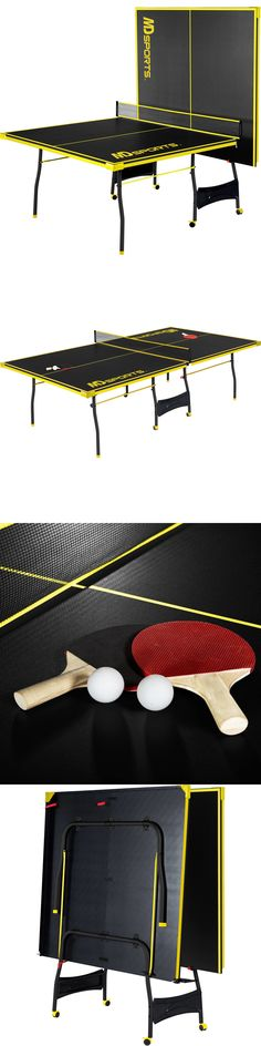 Tables 97075: Ping Pong Table Tennis Folding Tournament Size Game Set  Indoor Outdoor Sport