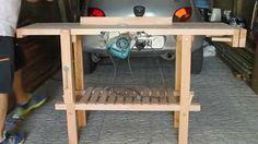 Banco de carpintero - Mesa de trabajo con sierra incluida
