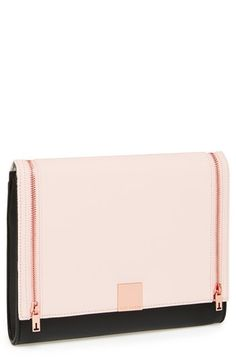 Ted Baker London Leather Clutch | Nordstrom