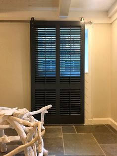 Rolling Shutters For Glass Sliding Doors Sliding Glass Door Shutters, Sliding Door Window Treatments, Sliding Patio Doors, Shutters Inside, Patio Windows, Dining Room Windows, Glass Door Coverings, Interior Shutters, Arched Doors