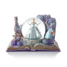 Cinderella's Fairy Godmother to the Rescue, Disney Book Snowglobe